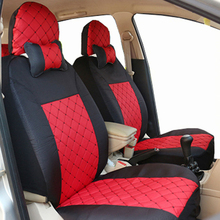 Carnong car seat cover universal size for toyota yaris camry verso prado 5 seat terios vios corolla reiz prius seat covers special leather car seat covers for toyota rav4 prado highlander corolla camry prius reiz crown yaris car accessories styling