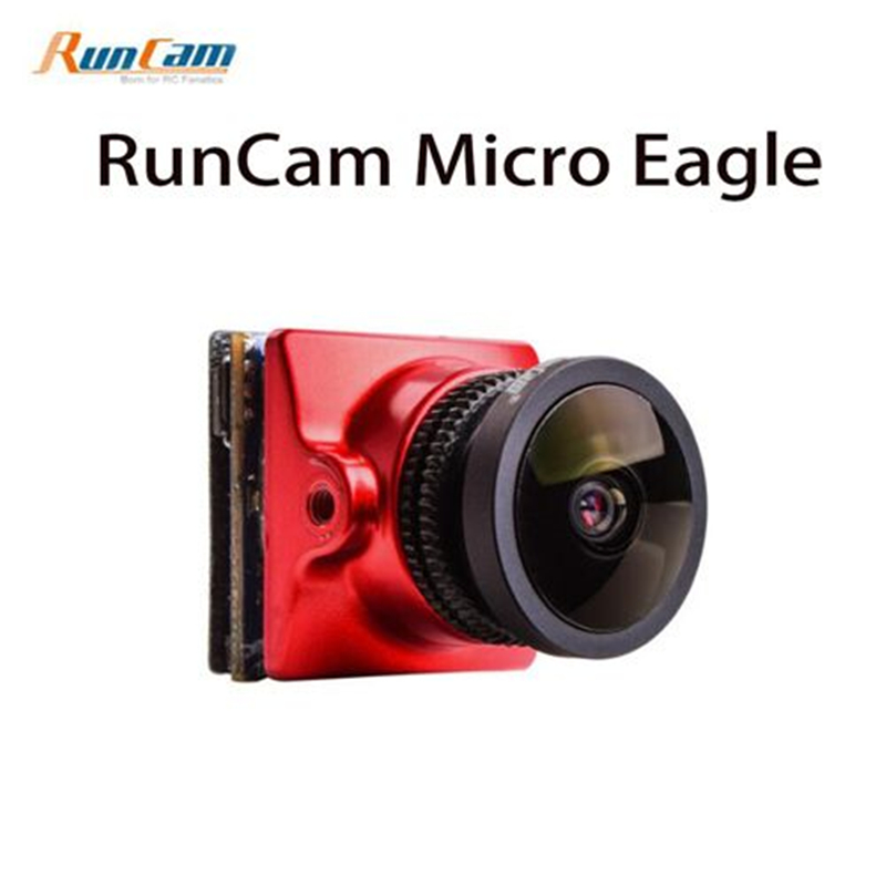 RunCam Micro Eagle FPV Camera 800TVL 1/1.8 CMOS Sensor NTSC / PAL 16:9 / 4:3 Switchabl 5-36V for FPV Quadcopter Racing Drone aomway 700tvl hd 1 3 cmos fpv camera pal