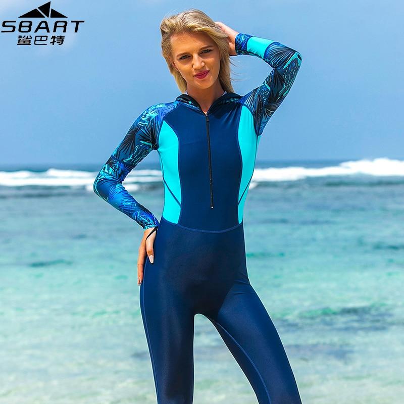 Women One Piece Swimsuit Scuba Surf Lycra Jumpsuit Full Body Swimwear Dive Skin