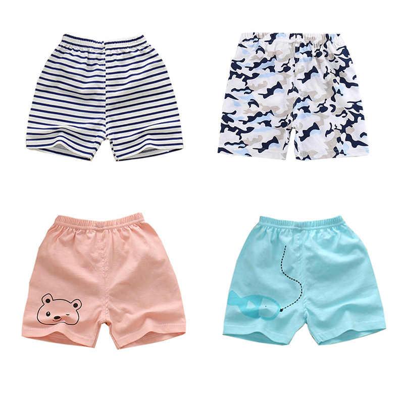 Lato spodnie dziecięce paskiem kreskówki krótkie spodnie dla dzieci na co dzień dziecko chłopcy dziewczyny bawełniane spodenki