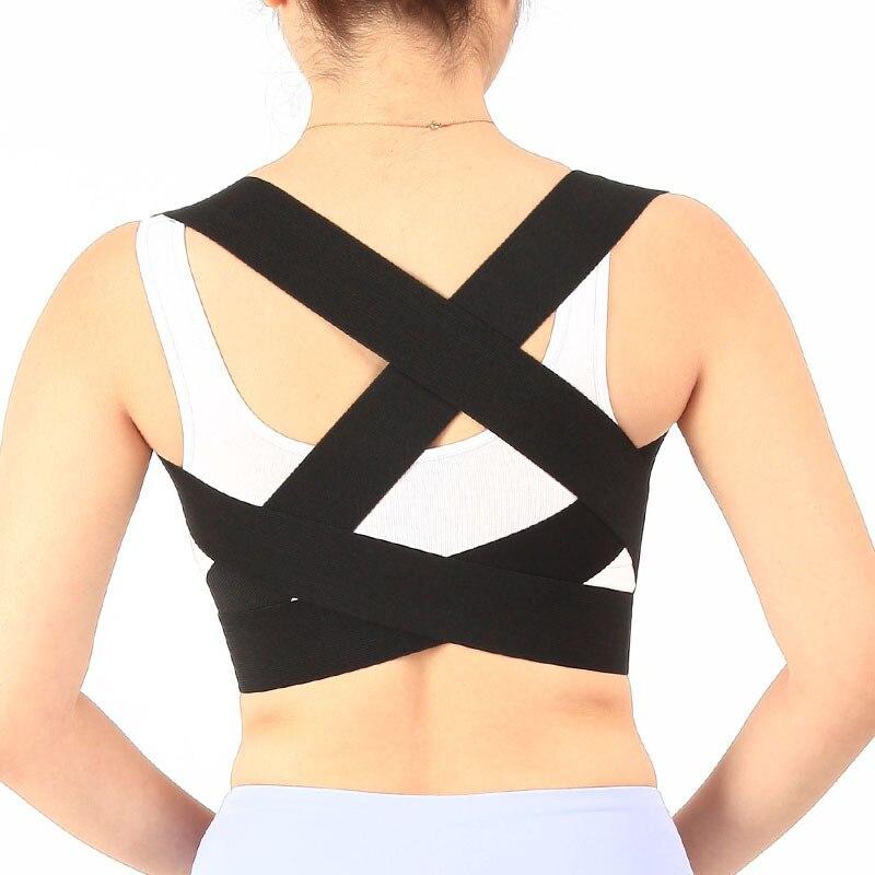 Nouvelle Réglable Posture Correcteur Dos Ceinture De Soutien des Épaules Bandage Corset Retour Soulagement de La Douleur Orthopédique Lombaire Hommes/femmes