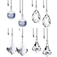 Clear Crystal Pull Chain…