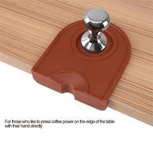 Руководство бариста кофе эспрессо латте искусство ручка держатель песта силиконовая подставка-коврик кухонные аксессуары