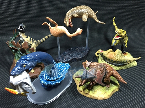 pvc figure Dinosaurs, Tyrannosaurus, Snake, Neck Dragon Sword out of print model toy out of print 5pcs/set 5pcs set simulation model toy scene decoration cowboy pvc figure rare out of print