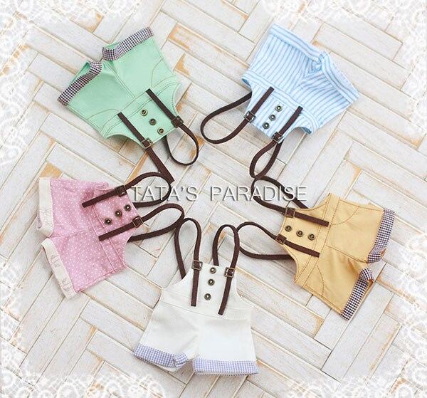 1/6 YOSD BJD SD DD doll accessories doll clothes cute overalls doll pants 1 6 yosd bjd sd doll accessories bjd clothes overalls