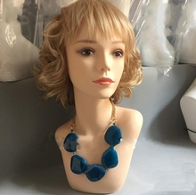 wholesale female wig mannequin head,hat stand,hair woman head for sale display,tete a coiffer 1PC M00654