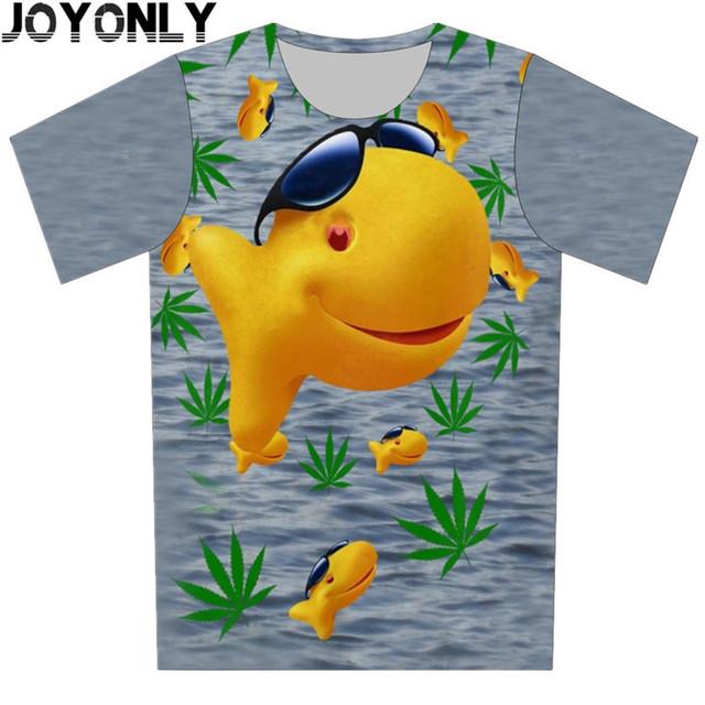 2016 Roupas de Verão para Crianças Nova Moda Camiseta 3D Engraçado. O animal Print de Manga Curta Marca Tops Da Menina do Menino Tees Tamanho 100-150