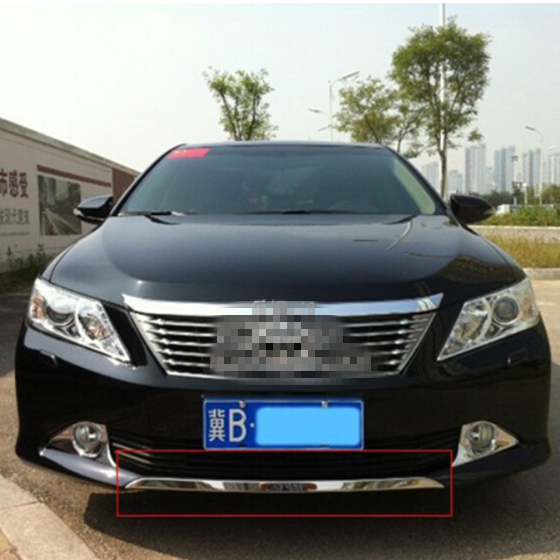 free shipping for 2012 2014 toyota camry front bumper trim. Black Bedroom Furniture Sets. Home Design Ideas