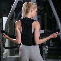 Brace Shoulder Support Back Care Posture Corrector Adjustable Clavicle Strap Improve Sit Walk Prevent Slouching for Women Men