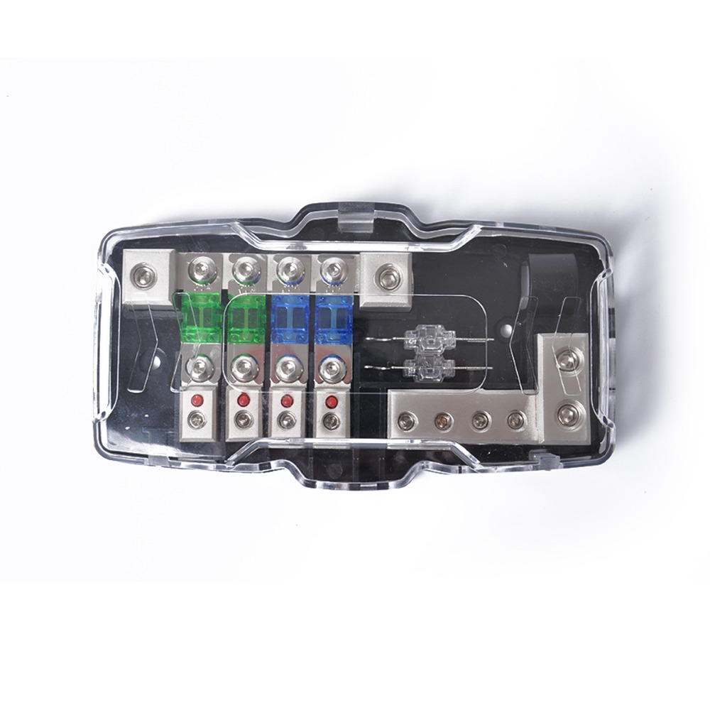 hot led car audio stereo mini anl fuse box way fuse led car audio stereo mini [ 1000 x 1000 Pixel ]