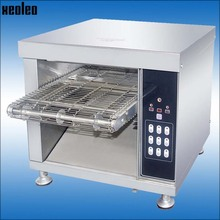 XEOLEO хлеб тостер электрический тостер конвейер тостер Коммерческая нержавеющая сталь Хлебопекарная машина с цифровым таймером управления