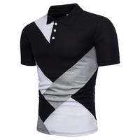 Ief G S Brand New Men S Striped Polo Shirt High Quality Men Cotton Short Sleeve