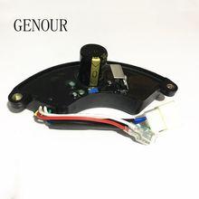 Original cqjy avr para 5kw monofásico ec6500 gerador de gasolina regulador de tensão automático, 350v360uf lt390 peças sobresselentes t105a