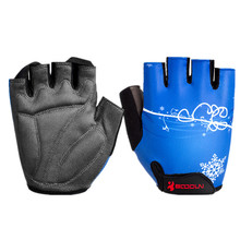 цена на BOODUN Men Women Cycling Gloves Half Finger Summer Elastic Mountain Bike Bicycle MTB Gym Crossfit Fitness Outdoor Sport Gloves