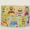 NEW 50 yards cute cartoon Spongebob ribbon printed grosgrain ribbon free shipping
