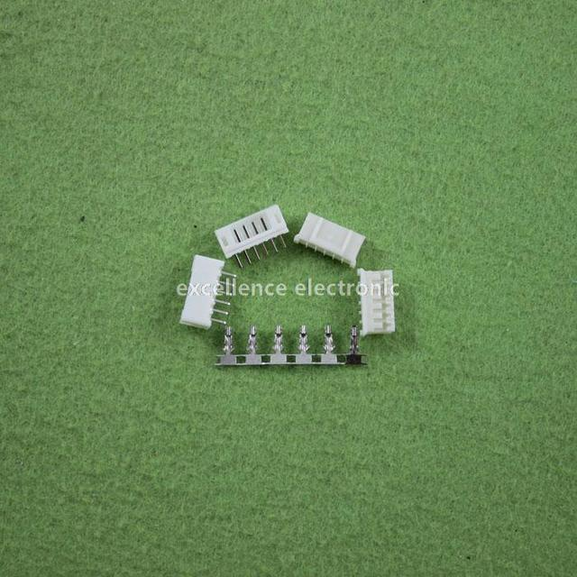 20 Sets, Micro JST 2.0 PH 6-Pin Connector plug Male ,Female, Crimps