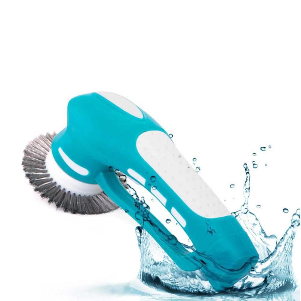 LanLan Household Handhold Electric Cleaning Machine Oil Stain Cleaning Brush Scrubber