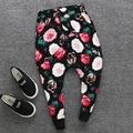 Children wear loose pants boy boy Haren Korean long pants baggy pants 2017 new P B644 in spring and Autumn