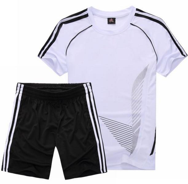 458970517b3 Custom Team Men Soccer Jerseys 2017 Soccer Training Football Jerseys Kit  Mens Short Football Shirt Custom DIY Soccer Tracksuit