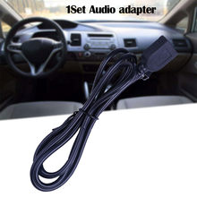 Auto USB Kabel Adapter Extension Wire voor Honda Geshitu/Civic Voorwaarts Audio Media Music Interface Auto Styling Onderdelen Drop schip #30(China)