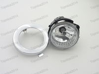 LH Side Front Fog Lamp W Chrome Cover For Subaru Forester 2011 2013