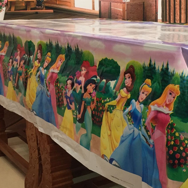 Cartoon Princesses Tablecloth