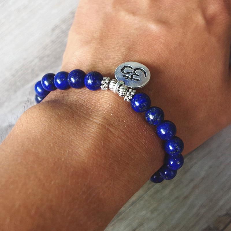 Lazurite Mala Bracelet 4