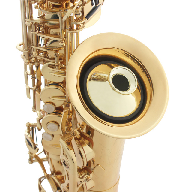 Alto Saxophon Stumm ABS Sax Stumm Schalldämpfer für Alto Saxophon Sax Bläser Instrument Zubehör