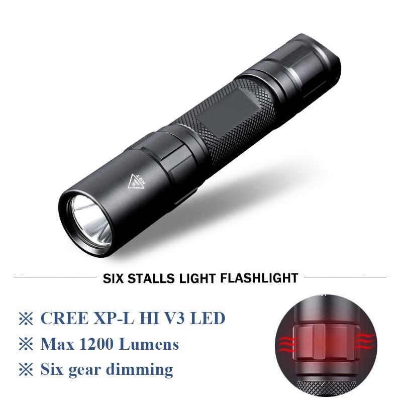 Tactical powerful led flashlight self defense torch waterproof flash light linterna use 18650 battery lanterna tatica zaklamp цифровой фотоаппарат sony cyber shot dsc rx 100 ii