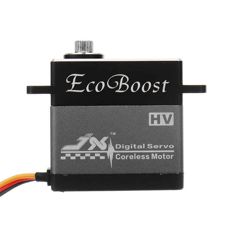 JX Ecoboost CLS6336HV 36 KG/BLS6534HV 33 KG grand couple 180 degrés CNC sans noyau numérique Servo pour RC modèles hélicoptère bricolage partie