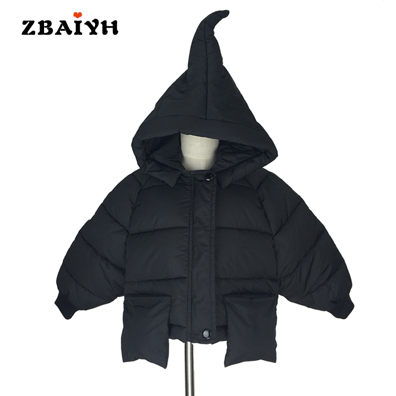 Baby winter jackets warm down coats for boys christmas fashion children clothing magic hooded 2016 girls jacket kids cotton tops 2017 fashion boy winter down jackets children coats warm baby cotton parkas kids outerwears for