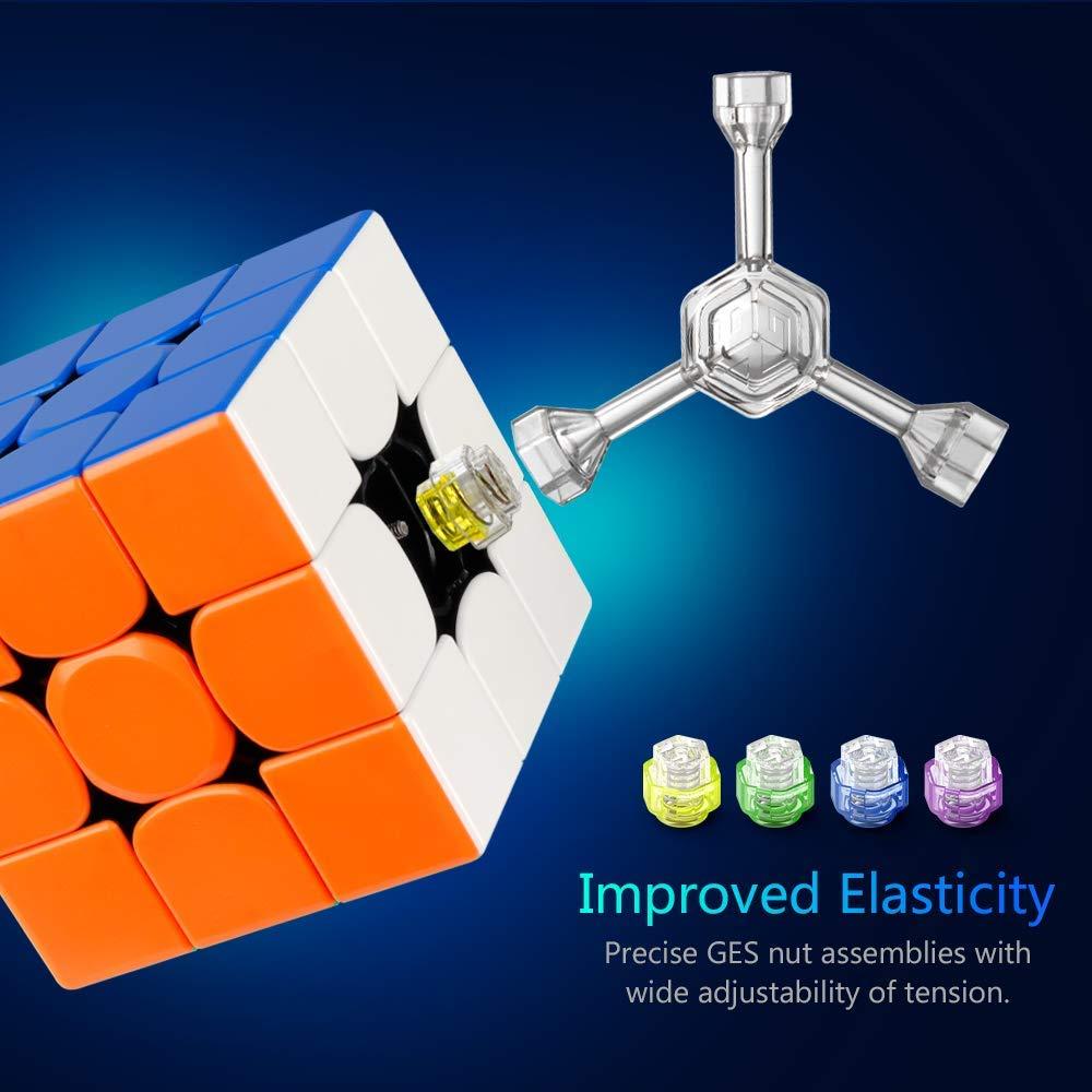 D-FantiX Gan 356 x Vitesse Cube Gan 356x Magnétique Cube 3x3x3 Magique puzzle de cubes Professionnel 3x3 Jouets (IPG V5 Version) - 6