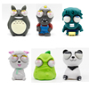8 styles Funny Cartoon Animal Small Squeeze
