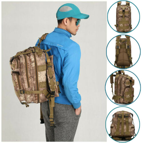 Tactical Backpack Outdoor Rucksacks Sport-Bag Military Traveling Camping New Oxford Unisex