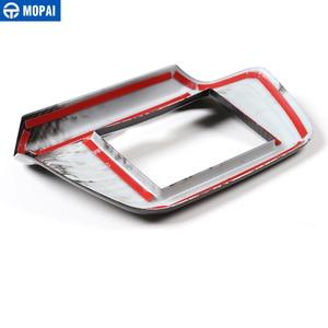 Image 5 - MOPAI, Автомобильный интерьер, навигационный экран, Оформление, рамка, наклейка для Chevrolet Camaro 2017, аксессуары для стайлинга