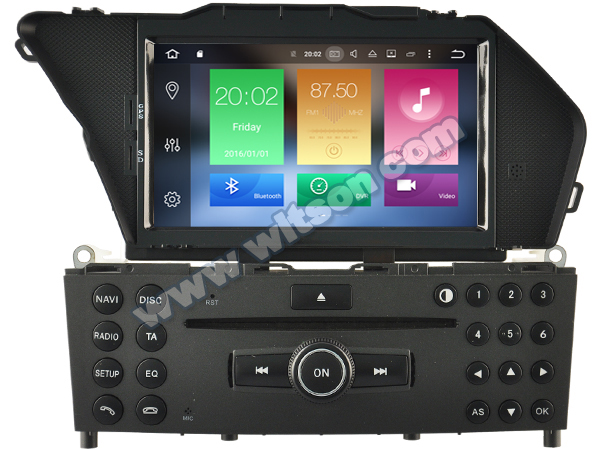 7 android 8 0 os car dvd multimedia gps radio for mercedes benz glk class x204 2008 2010 with. Black Bedroom Furniture Sets. Home Design Ideas