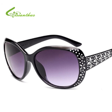 813106fc6 Elegante Moda Mulheres Strass Óculos De Sol Do Vintage Óculos Ovais Famale  Padrão High-end Óculos de Sol Óculos de Sol óculos Gr..