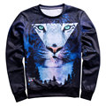 2017 New Style Animals printed Fashion 3D sweatshirt for men/women cat/lion funny hoodies Spring Autumn Brand Pullovers