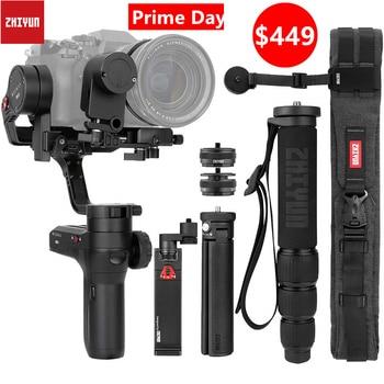 Zhiyun Weebill Lab 3-Axis Wireless Gambar Transmisi Gambar Kamera Stabilizer untuk Kamera Layar OLED Handheld Gimbal