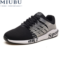 MIUBU 2019 New Casual Shoes Men Breathable Autumn Summer Mesh Shoes Sneakers Fashionable Breathable Lightweight movement shoes laisumk new casual shoes men breathable autumn summer mesh shoes sneakers fashionable breathable lightweight movement shoes