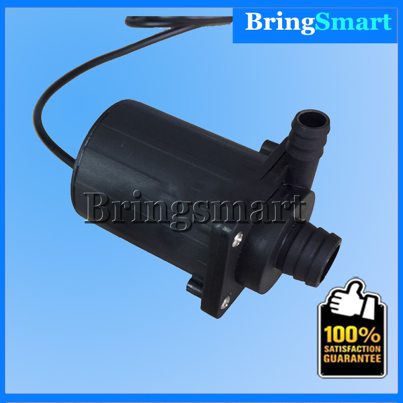 Free shipping JT-800A 900L/H 12V DC Brushless Water Pump Mini Heating Circulating Pump 24V Bringsmart bringsmart jt 280at 12v dc brushless submersible water pump 24v circulating computer cooling pumps free shipping