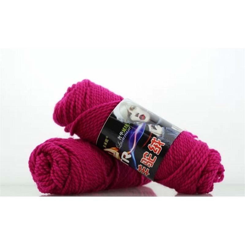 500g/5pcs Alpaca Wool Crochet Thick Yarn For Knitting Laine Chunky Baby wool Yarns Crochet threads Garen om te haken Breigaren