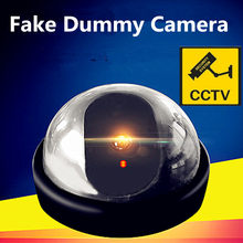 Emulational Fake Decoy Dummy Security CCTV DVR for Home DOME Camera with Red Blinking LED(China)