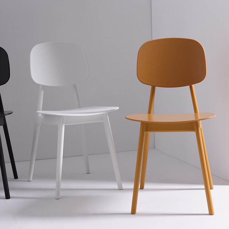 Colorful Dining Chair: Hot Sale Modern Design Plastic Nice Color Dining Side