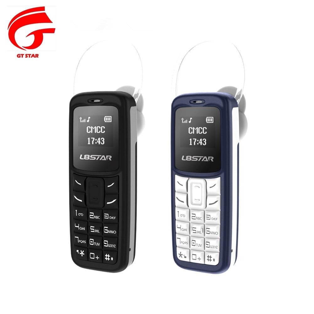 3 unids/lote GT STAR BM30 auriculares inalámbricos Bluetooth GTStar auriculares L8STAR dial Mini GSM teléfono móvil BM10 BM50 BM70 UNIWA L8STAR BM70 Mini teléfono móvil Bluetooth inalámbrico auricular teléfono móvil estéreo GSM desbloqueado teléfono súper Delgado GSM pequeño teléfono