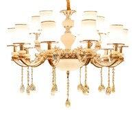 Colgante Moderna Đèn Đèn Hanglamp Industrieel Pha Lê Đèn Chùm Treo Đèn Lampen Hiện Đại Luminaria Mặt Dây Chuyền Ánh Sáng