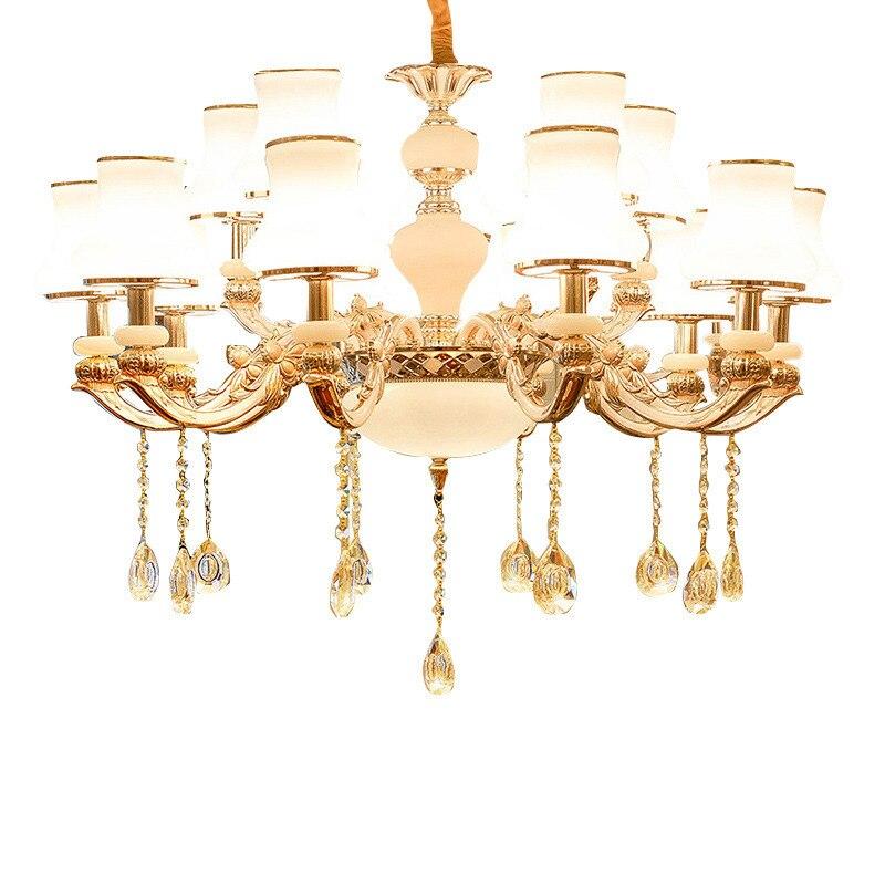 Luminaires modernes Colgante lampe à Suspension industrielle en cristal Loft Luminaire à Suspension moderne Luminaria