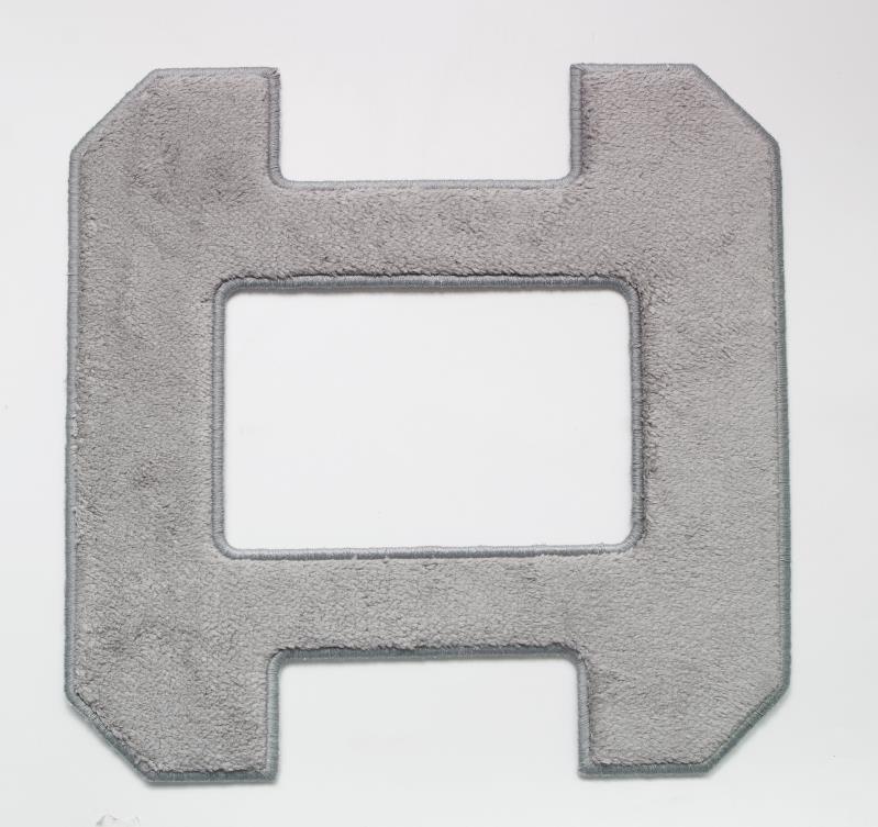 Robot fenêtre cleaner gris chiffon propre * 6 pcs par ensemble pour modèle X6