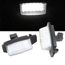1 пара водить автомобиль Номерные знаки для мотоциклов лампы для Mitsubishi Outlander 11/2006-8/2009/Outlander XL (cw) 2006-2012 части авто аксессуары