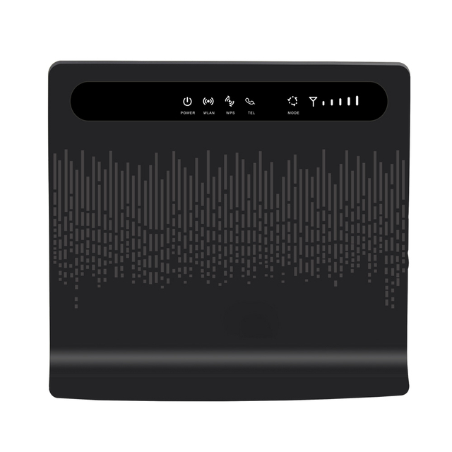 US $78 0 |B593 Unlock 150 Mbps CPE Router Wireless Wi fi 3g 4g LTE Modem  Wifi Router 4 Wlan Lan USB Port Support SIM Card WPS 4G Hotspot-in